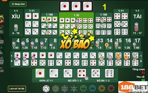 Kinh nghiệm chơi game Tài Xỉu để nhanh thành triệu phú trên 188bet