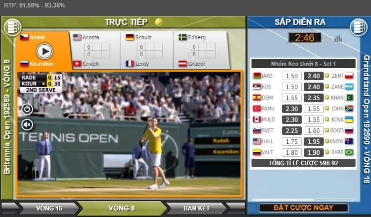 Phân tích cách chơi quần vợt ảo tại 188Bet đơn giản nhất