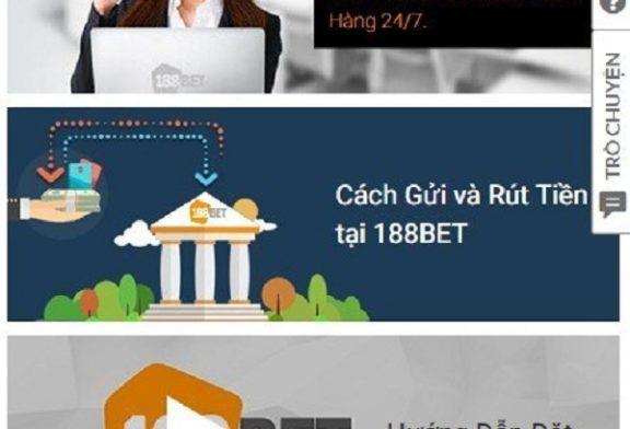 Hướng dẫn 3 bước hỗ trợ trực tuyến 188bet nhanh nhất