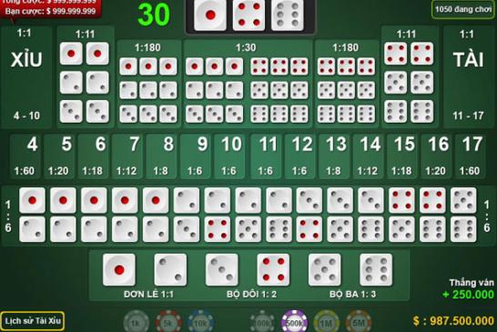 Những kỹ thuật hữu dụng giúp bạn thắng cược Tài - Xỉu tại nhà cái 188bet