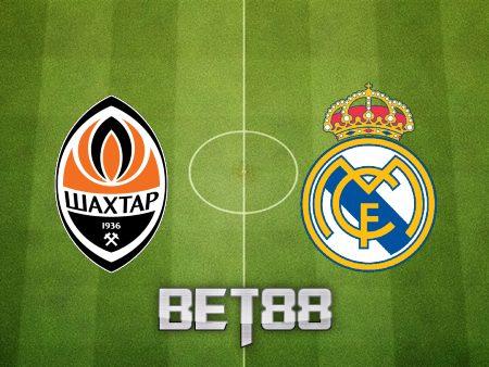 Soi kèo nhà cái Shakhtar Donetsk vs Real Madrid – 02h00 – 20/10/2021